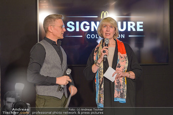 McDonalds Signature Collection - McDonalds Messe Wien - Mi 20.02.2019 - Andi KNOLL, Isabelle KUSTER48