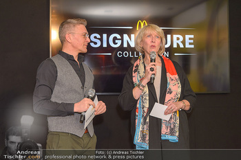 McDonalds Signature Collection - McDonalds Messe Wien - Mi 20.02.2019 - Andi KNOLL, Isabelle KUSTER50