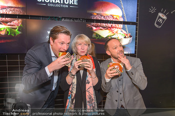McDonalds Signature Collection - McDonalds Messe Wien - Mi 20.02.2019 - Michael STIX, Isabelle KUSTER, Jörg PIZZERA57