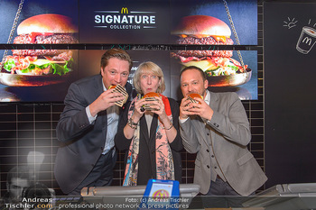 McDonalds Signature Collection - McDonalds Messe Wien - Mi 20.02.2019 - Michael STIX, Isabelle KUSTER, Jörg PIZZERA58