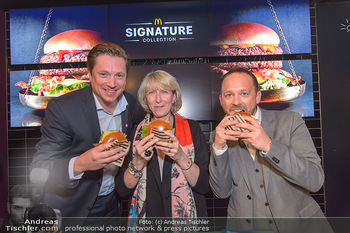 McDonalds Signature Collection - McDonalds Messe Wien - Mi 20.02.2019 - Michael STIX, Isabelle KUSTER, Jörg PIZZERA59