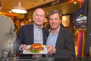 McDonalds Signature Collection - McDonalds Messe Wien - Mi 20.02.2019 - Kurt MANN, Erwin KOTANYI66