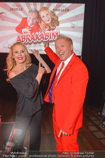 Abrakabim Premiere - Studio 44, Wien - Do 21.02.2019 - Uli Ulrike KRIEGLER, Peter DEVILLE4
