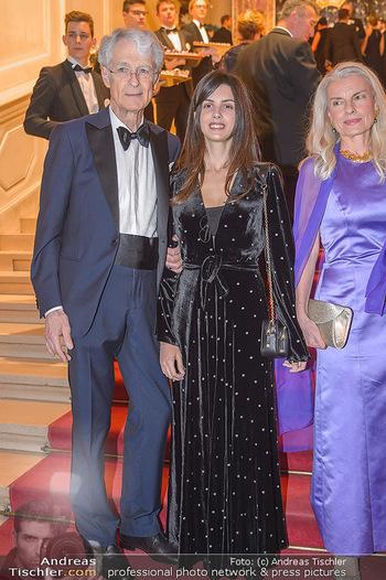 Kaffeesiederball - Hofburg Wien - Fr 22.02.2019 - Martino ZANETTI mit Tochter Beatrice54