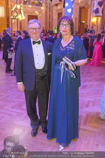 Kaffeesiederball - Hofburg Wien - Fr 22.02.2019 - Karl WESSELY mit Ehefrau70