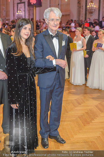 Kaffeesiederball - Hofburg Wien - Fr 22.02.2019 - Martino ZANETTI mit Tochter Beatrice89