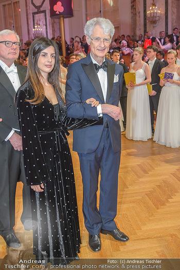 Kaffeesiederball - Hofburg Wien - Fr 22.02.2019 - Martino ZANETTI mit Tochter Beatrice90