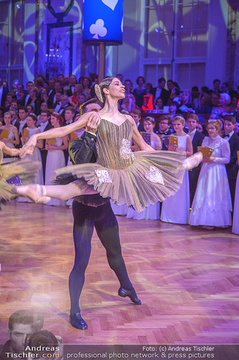 Kaffeesiederball - Hofburg Wien - Fr 22.02.2019 - Maria YAKOVLEVA beim Tanzen96