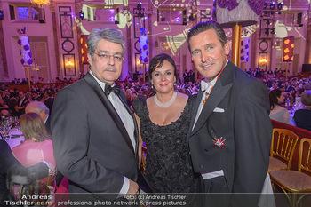 Kaffeesiederball - Hofburg Wien - Fr 22.02.2019 - Wolfgang HESOUN, Peter HANKE mit Ehefrau121