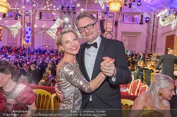Kaffeesiederball - Hofburg Wien - Fr 22.02.2019 - Kristina SPRENGER mit Ehemann Gerald GERSTBAUER126