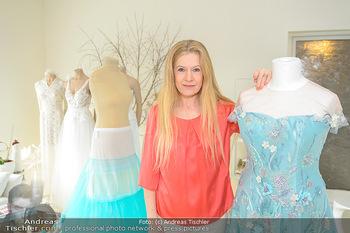 Natalia Ushakova Opernballkleid - Atelier Zoe by Inge Cecka - Mo 25.02.2019 - Inge CECKA (Modelabel Zoe) in ihrem Atelier6