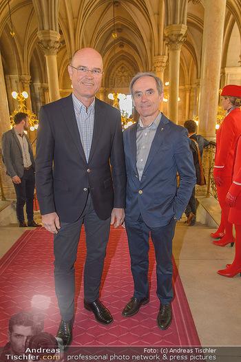 Falstaff Guide Präsentation - Rathaus Wien - Mo 25.02.2019 - Rudolf und Karl OBAUER14