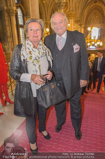 Falstaff Guide Präsentation - Rathaus Wien - Mo 25.02.2019 - Lisl WAGNER-BACHER mit Ehemann Klaus22