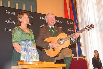 Falstaff Guide Präsentation - Rathaus Wien - Mo 25.02.2019 - Familie Magdalena, Balthasar und Johannes HAUSER musizieren98