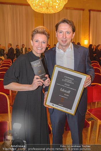 Falstaff Guide Präsentation - Rathaus Wien - Mo 25.02.2019 - Birgit und Heinz REITBAUER128