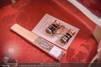 Opernball 2019 - Feststiege - Wiener Staatsoper - Do 28.02.2019 - Fernglas Fernstecher in der Regierungsloge22