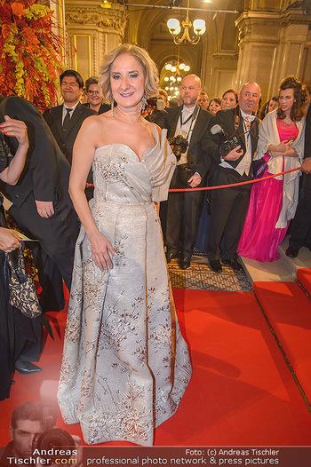 Opernball 2019 - Feststiege - Wiener Staatsoper - Do 28.02.2019 - Johanna MIKL-LEITNER145