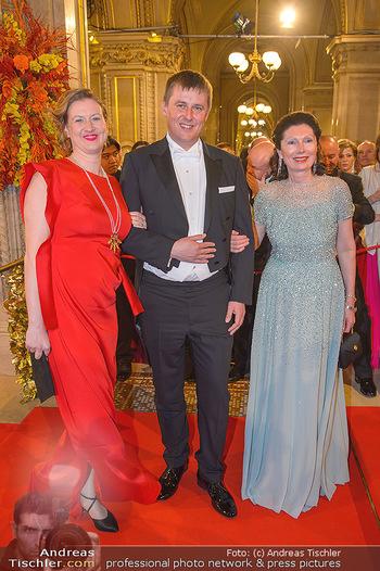 Opernball 2019 - Feststiege - Wiener Staatsoper - Do 28.02.2019 - 208