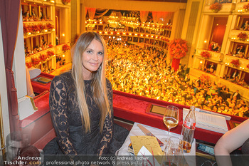 Opernball 2019 - Das Fest - Wiener Staatsoper - Do 28.02.2019 - Elle MACPHERSON2