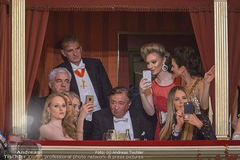 Opernball 2019 - Das Fest - Wiener Staatsoper - Do 28.02.2019 - Loge Richard und Jacqueline LUGNER, Elle MACPHERSON4
