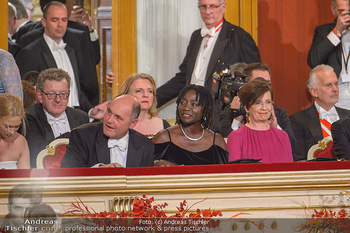 Opernball 2019 - Das Fest - Wiener Staatsoper - Do 28.02.2019 - Wolfgang SOBOTKA, Karin KNEISSL, Auma OBAMA, Doris SCHMIDAUER11
