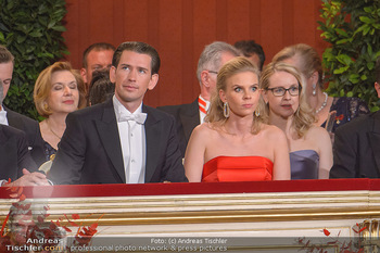 Opernball 2019 - Das Fest - Wiener Staatsoper - Do 28.02.2019 - Sebastian KURZ, Susanne THIER13