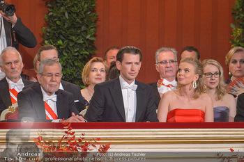 Opernball 2019 - Das Fest - Wiener Staatsoper - Do 28.02.2019 - Alexander VAN DER BELLEN, Sebastian KURZ, Susanne THIER14