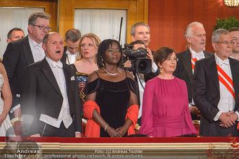 Opernball 2019 - Das Fest - Wiener Staatsoper - Do 28.02.2019 - Wolfgang SOBOTKA, Auma OBAMA, Doris SCHMIDAUER16