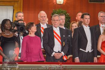 Opernball 2019 - Das Fest - Wiener Staatsoper - Do 28.02.2019 - Auma OBAMA, Doris SCHMIDAUER, Alexander VAN DER BELLEN, Sebastia17
