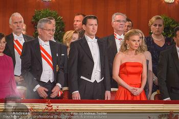 Opernball 2019 - Das Fest - Wiener Staatsoper - Do 28.02.2019 - Alexander VAN DER BELLEN, Sebastian KURZ, Susanne THIER18