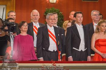 Opernball 2019 - Das Fest - Wiener Staatsoper - Do 28.02.2019 - Doris SCHMIDAUER, Alexander VAN DER BELLEN, Sebastian KURZ22