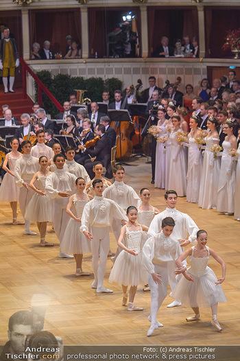 Opernball 2019 - Das Fest - Wiener Staatsoper - Do 28.02.2019 - Balett bei der Eröffnung28