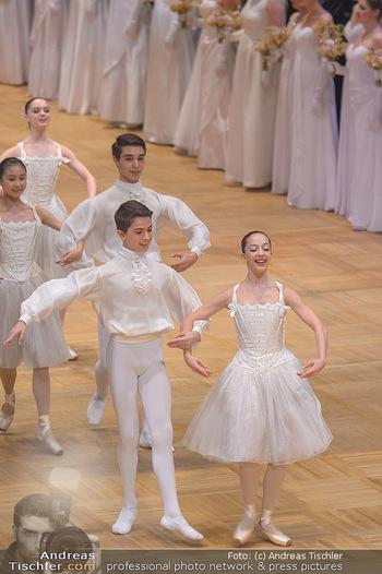 Opernball 2019 - Das Fest - Wiener Staatsoper - Do 28.02.2019 - Balett bei der Eröffnung29