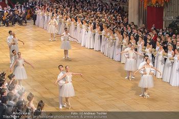 Opernball 2019 - Das Fest - Wiener Staatsoper - Do 28.02.2019 - Balett bei der Eröffnung30