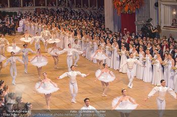 Opernball 2019 - Das Fest - Wiener Staatsoper - Do 28.02.2019 - Balett bei der Eröffnung34
