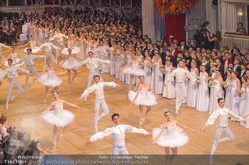 Opernball 2019 - Das Fest - Wiener Staatsoper - Do 28.02.2019 - Balett bei der Eröffnung35