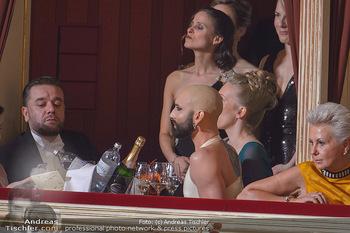 Opernball 2019 - Das Fest - Wiener Staatsoper - Do 28.02.2019 - Conchita WURST mit Glatze37