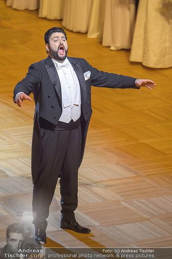 Opernball 2019 - Das Fest - Wiener Staatsoper - Do 28.02.2019 - Yusif EYVAZOV42