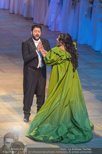 Opernball 2019 - Das Fest - Wiener Staatsoper - Do 28.02.2019 - Yusif EYVAZOV, Anna NETREBKO52
