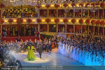 Opernball 2019 - Das Fest - Wiener Staatsoper - Do 28.02.2019 - Yusif EYVAZOV, Anna NETREBKO56