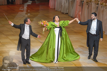 Opernball 2019 - Das Fest - Wiener Staatsoper - Do 28.02.2019 - Marco ARMILIATO, Anna NETREBKO, Yusif EYVAZOV58