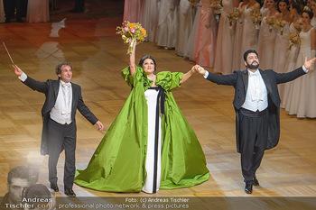 Opernball 2019 - Das Fest - Wiener Staatsoper - Do 28.02.2019 - Marco ARMILIATO, Anna NETREBKO, Yusif EYVAZOV59
