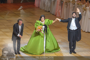 Opernball 2019 - Das Fest - Wiener Staatsoper - Do 28.02.2019 - Marco ARMILIATO, Anna NETREBKO, Yusif EYVAZOV60