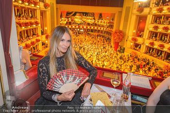 Opernball 2019 - Das Fest - Wiener Staatsoper - Do 28.02.2019 - Elle MACPHERSON68