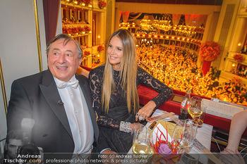 Opernball 2019 - Das Fest - Wiener Staatsoper - Do 28.02.2019 - Elle MACPHERSON, Richard LUGNER74