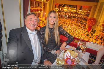 Opernball 2019 - Das Fest - Wiener Staatsoper - Do 28.02.2019 - Elle MACPHERSON, Richard LUGNER76