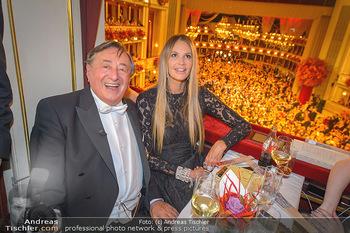 Opernball 2019 - Das Fest - Wiener Staatsoper - Do 28.02.2019 - Elle MACPHERSON, Richard LUGNER77