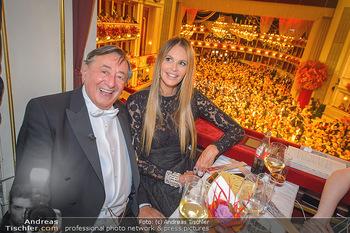Opernball 2019 - Das Fest - Wiener Staatsoper - Do 28.02.2019 - Elle MACPHERSON, Richard LUGNER79
