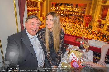 Opernball 2019 - Das Fest - Wiener Staatsoper - Do 28.02.2019 - Elle MACPHERSON, Richard LUGNER81