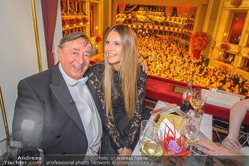 Opernball 2019 - Das Fest - Wiener Staatsoper - Do 28.02.2019 - Elle MACPHERSON, Richard LUGNER82